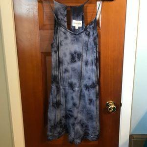 Olive & Oak blue tie dye romper